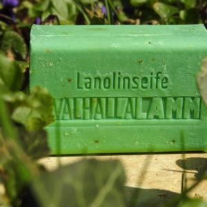 Walhalla-Lamm Lanolinseife Eisenkraut
