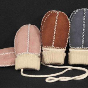 Lammfell Baby-Hand-Schuhe