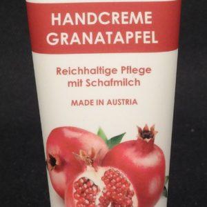Handcreme Schafmilch Granatapfel