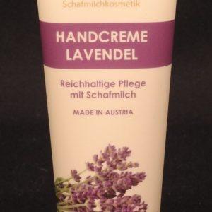 Handcreme Schafmilch Lavendel
