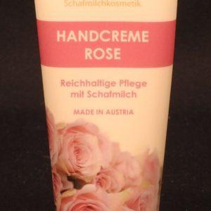 Handcreme Schafmilch Rose