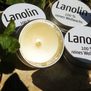 Lanolin in Aluminiumdose
