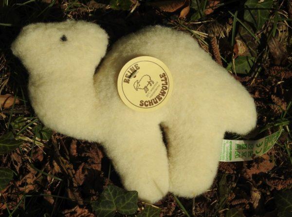 Schafwoll-Flachtier Kamel