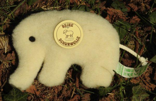 Schafwoll-Flachtier Elefant