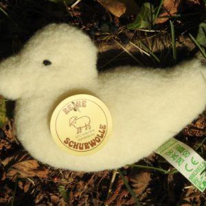 Schafwoll-Flachtier Ente