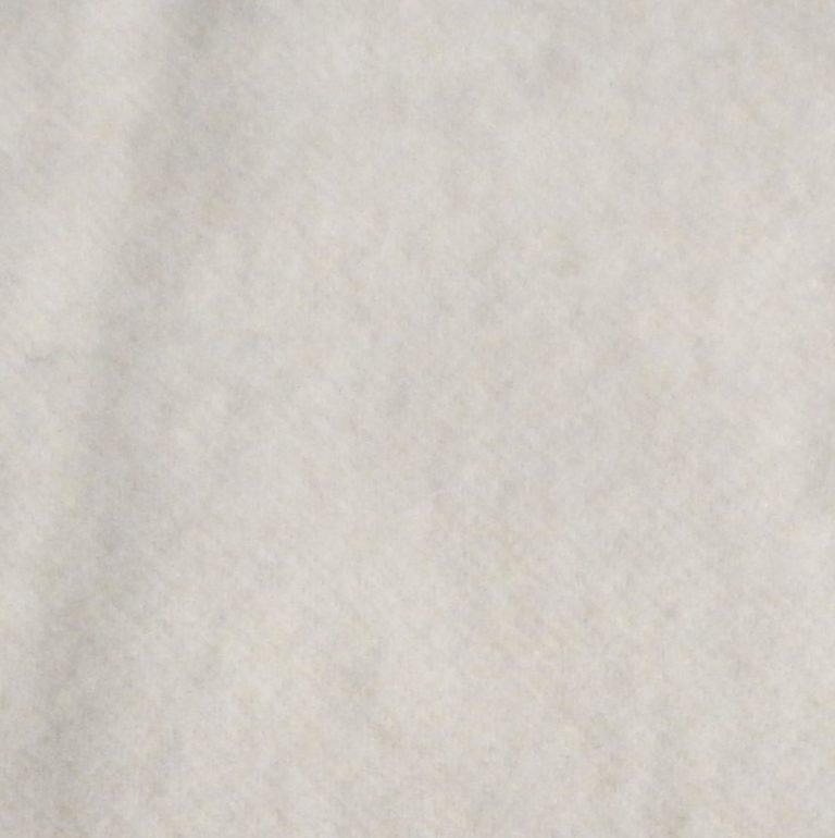 Wolldecken-Farbmuster weiss