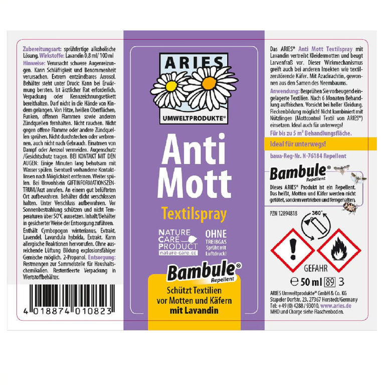 Anti-Mott Etikett
