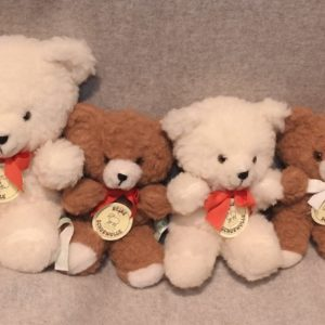 Schafwoll-Kuscheltier Teddy-Bär