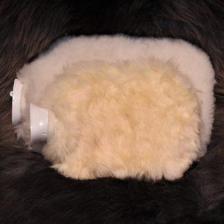 Lammfell-Wärmflaschen