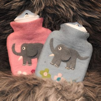 Filz-Wärmflasche Elefant