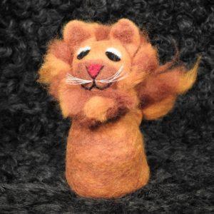 Filz-Eierwärmer Löwe